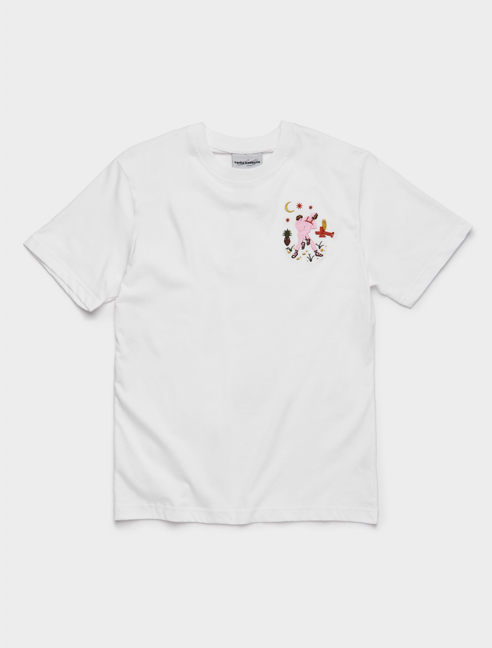 149-AW20TS004W CARNE BOLLENTE J'USE CESAR T-SHIRT WHITE