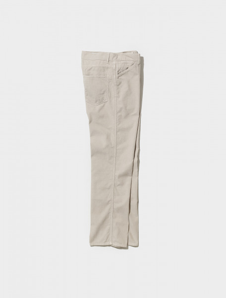 M 213 PA179 LF638 902LEMAIRE 5 POCKET TROUSERS IN PLASTER