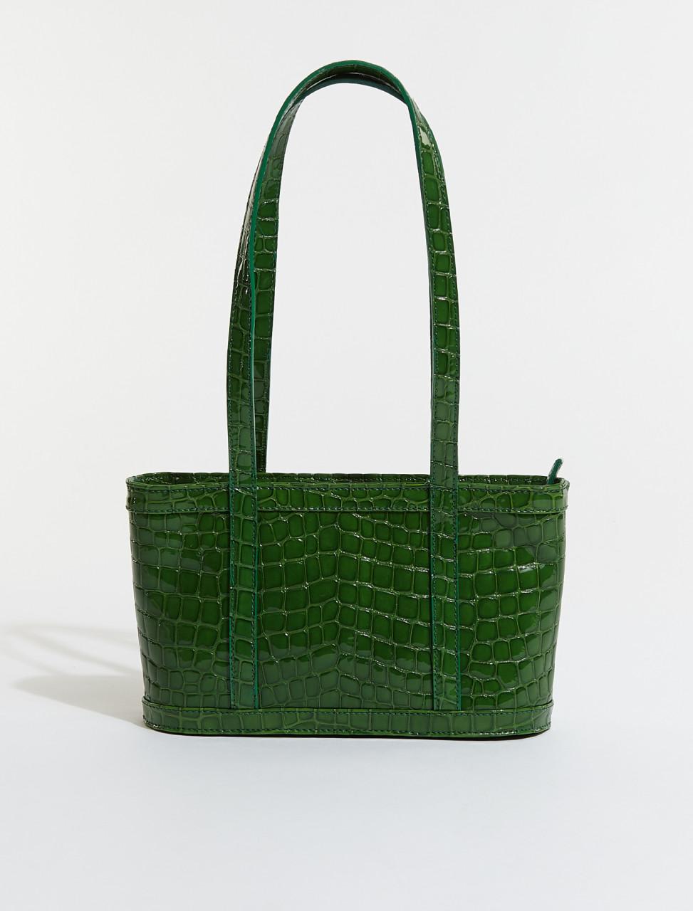 PBM002-521 PALOMA WOOL JUANITA BAG IN INTENSE GREEN
