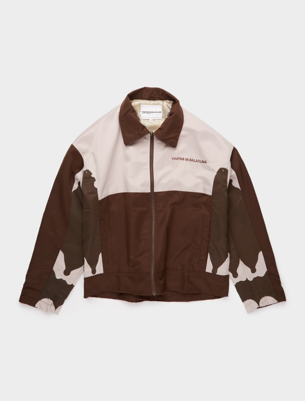 328-YOU01J001-3 YOUTHS IN BALACLAVA JACKET IN BROWN