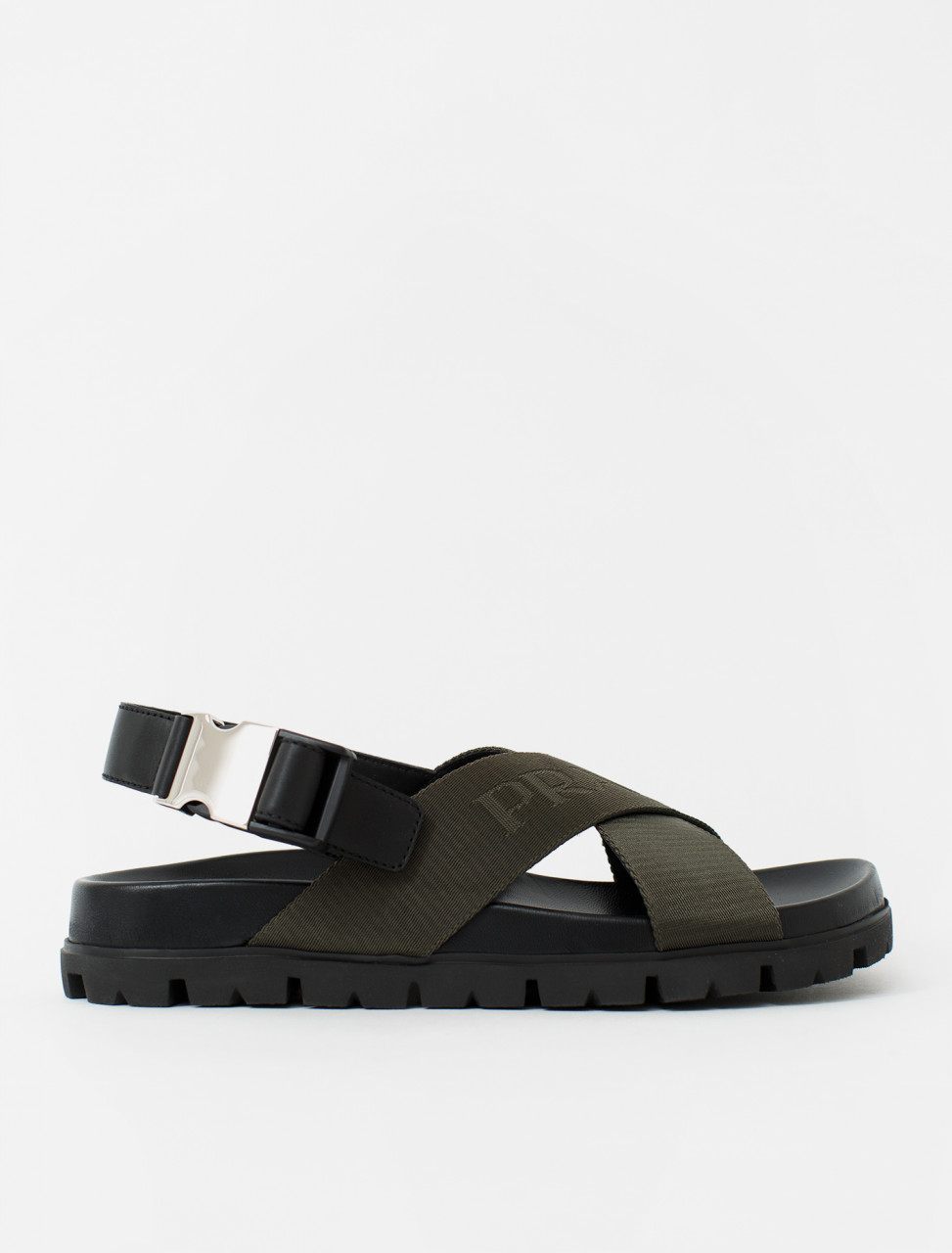 Nylon Sandals in Tundra