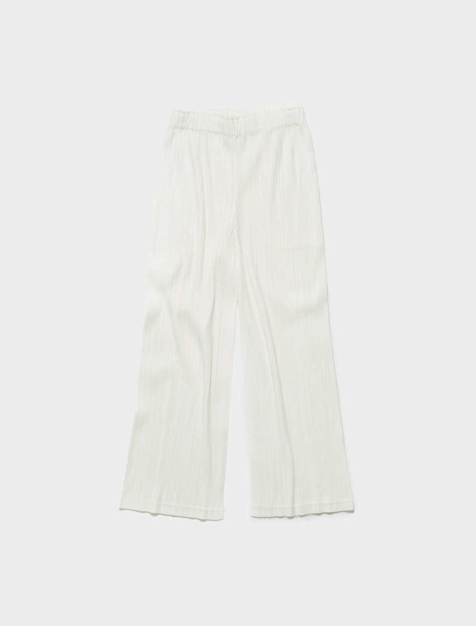 PP16JF462-01 ISSEY MIYAKE PLEATS PLEASE PLEATED TROUSER WHITE