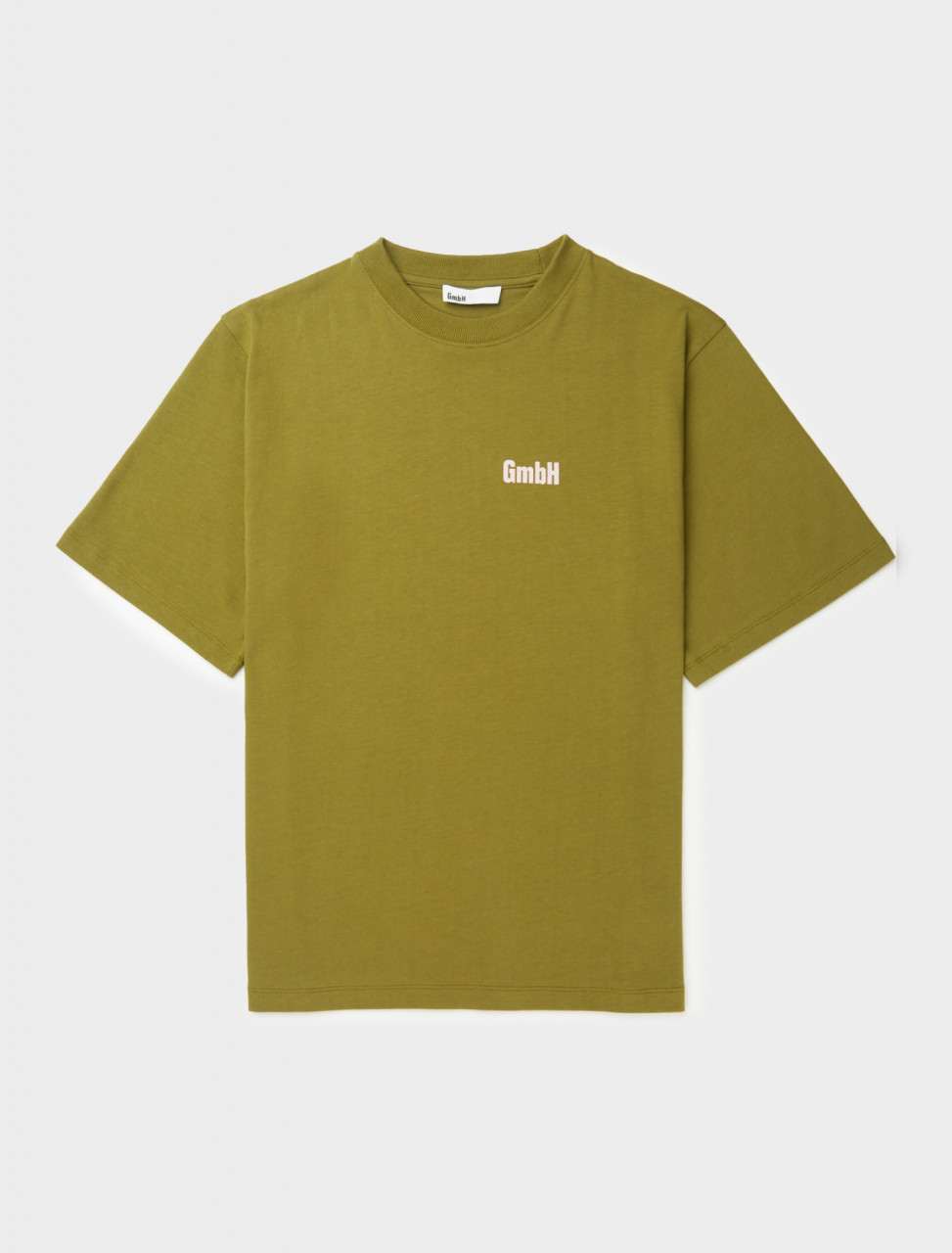 Front view of GmbH Birk Screen Printed T-Shirt