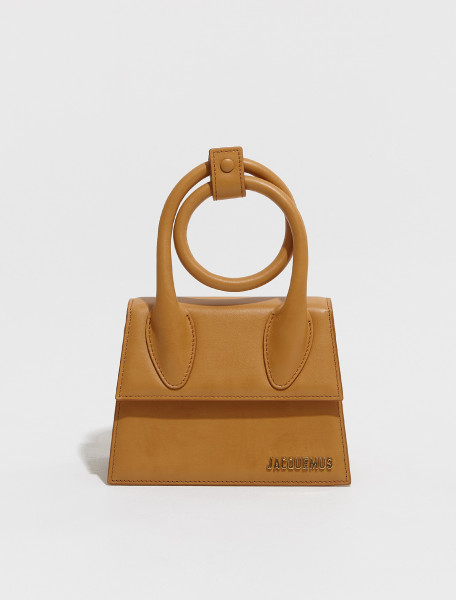 213BA05 213 301170 JACQUEMUS LE CHIQUITO NOEUD IN CAMEL