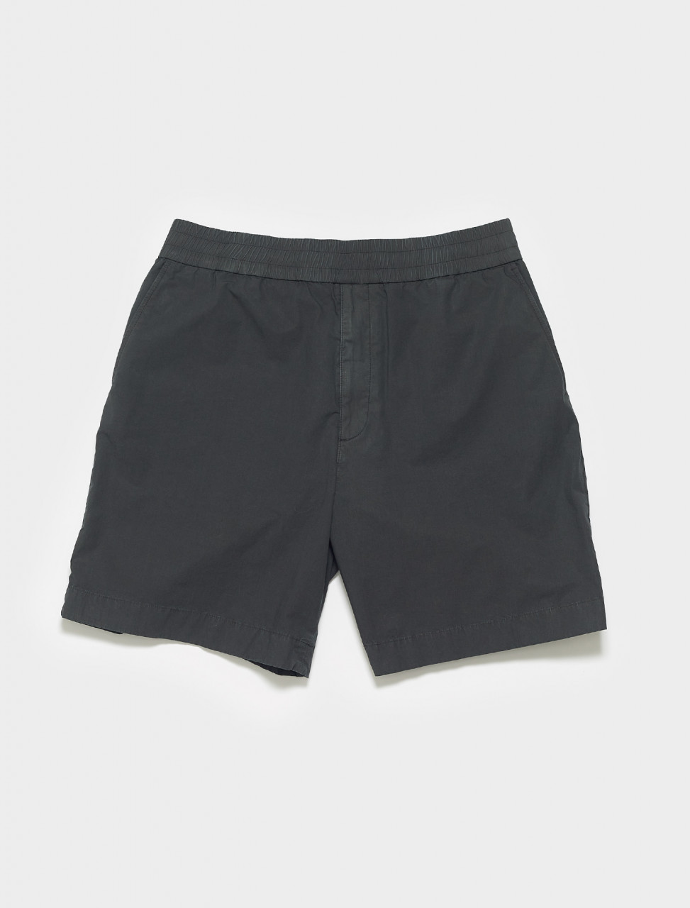 BE0058-AA2 ACNE STUDIOS RANDAL GD WASHED SHORTS IN ANTHRACITE GREY