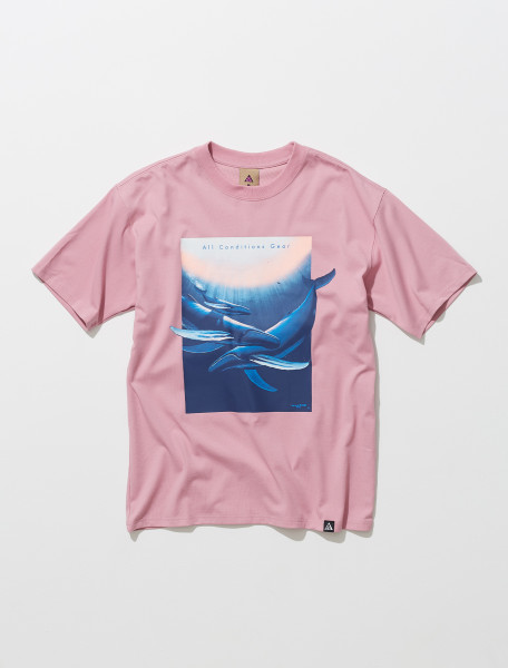 ACG 'Wyland' T-Shirt in Pink