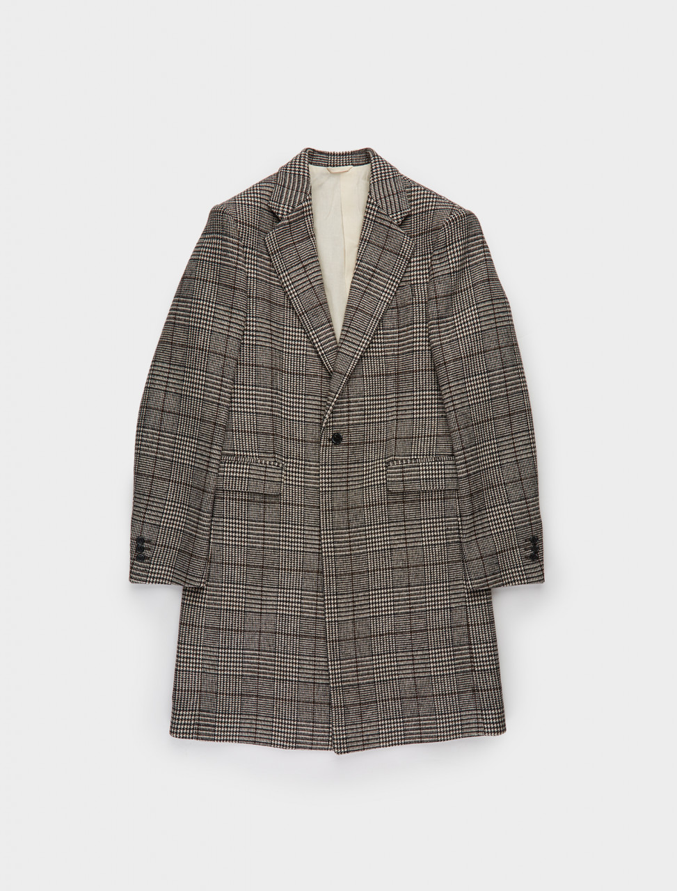 162-202-610-25008-09913 RAF SIMONS Slim Fit Single Breasted Coat