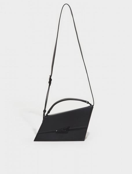 A10174 900 FN WN BAGS000178 ACNE STUDIOS ALGOL LARGE ANGULAR BAG IN BLACK
