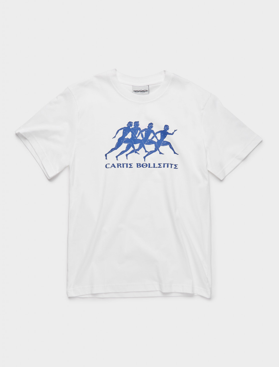 149-AW20TS007 CARNE BOLLENTE JEUX OLYMPIPES T-SHIRT WHITE