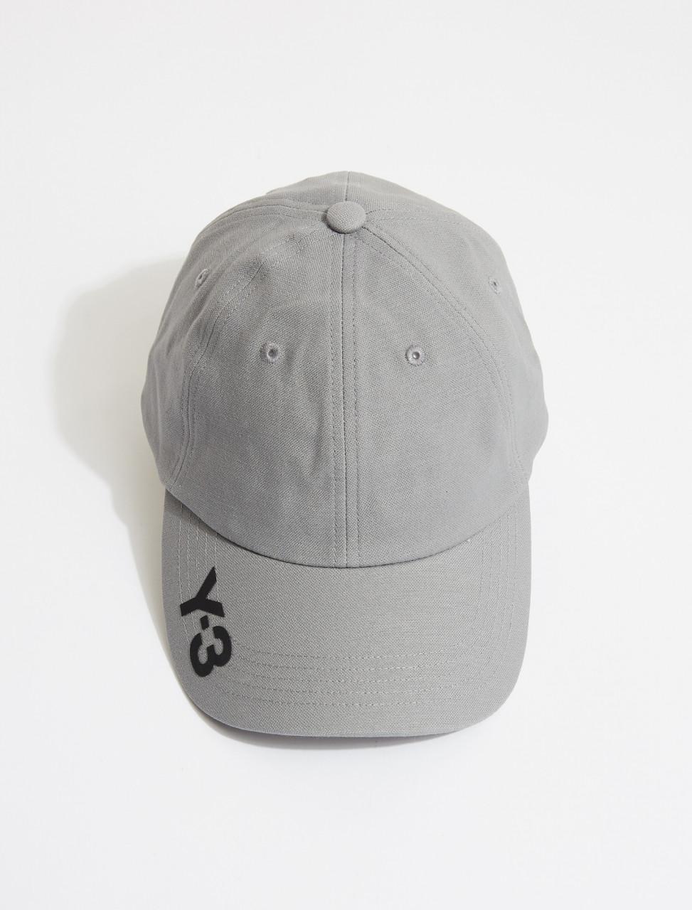 165-GK3128 Y-3 CH1 CAP GREY