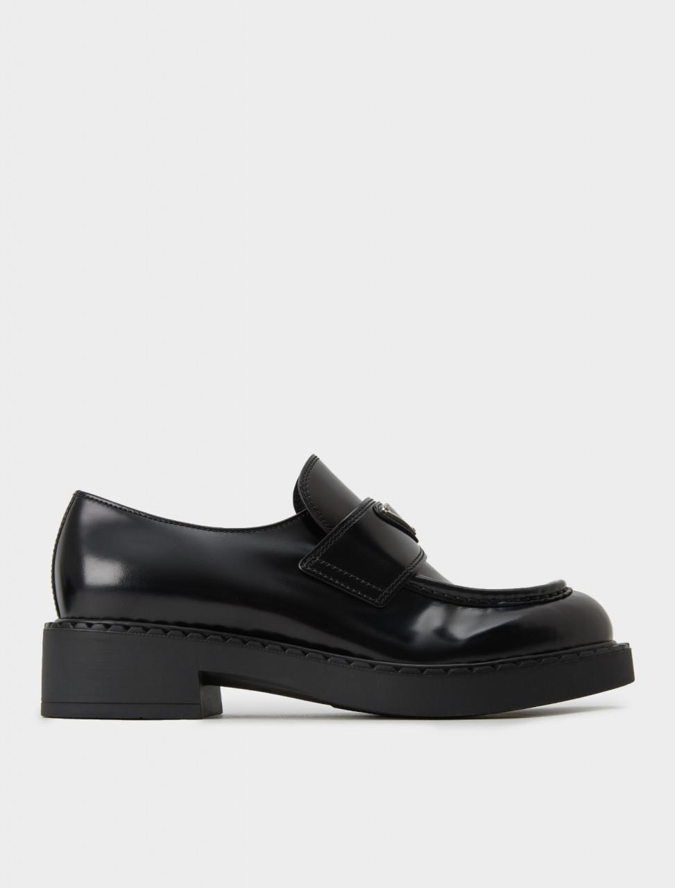Prada Penny Loafer in Black