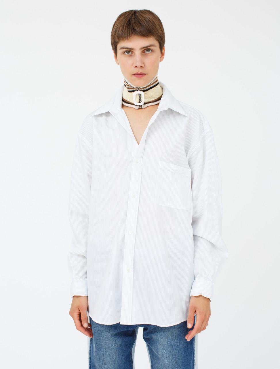 Padded Striped Shirt