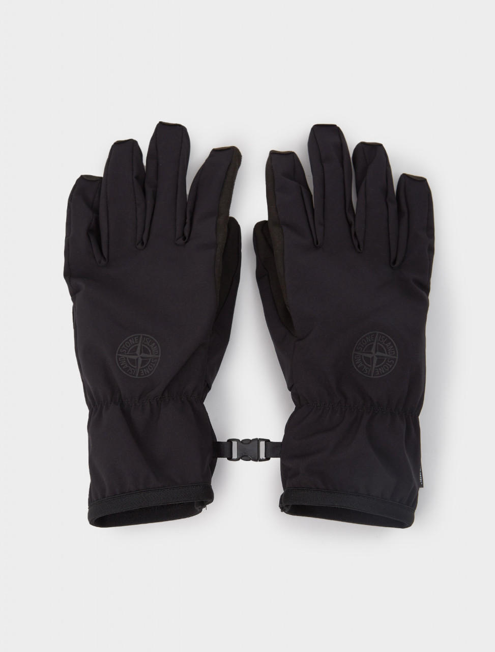 241-MO731592429-V0029 STONE ISLAND GLOVES BLACK