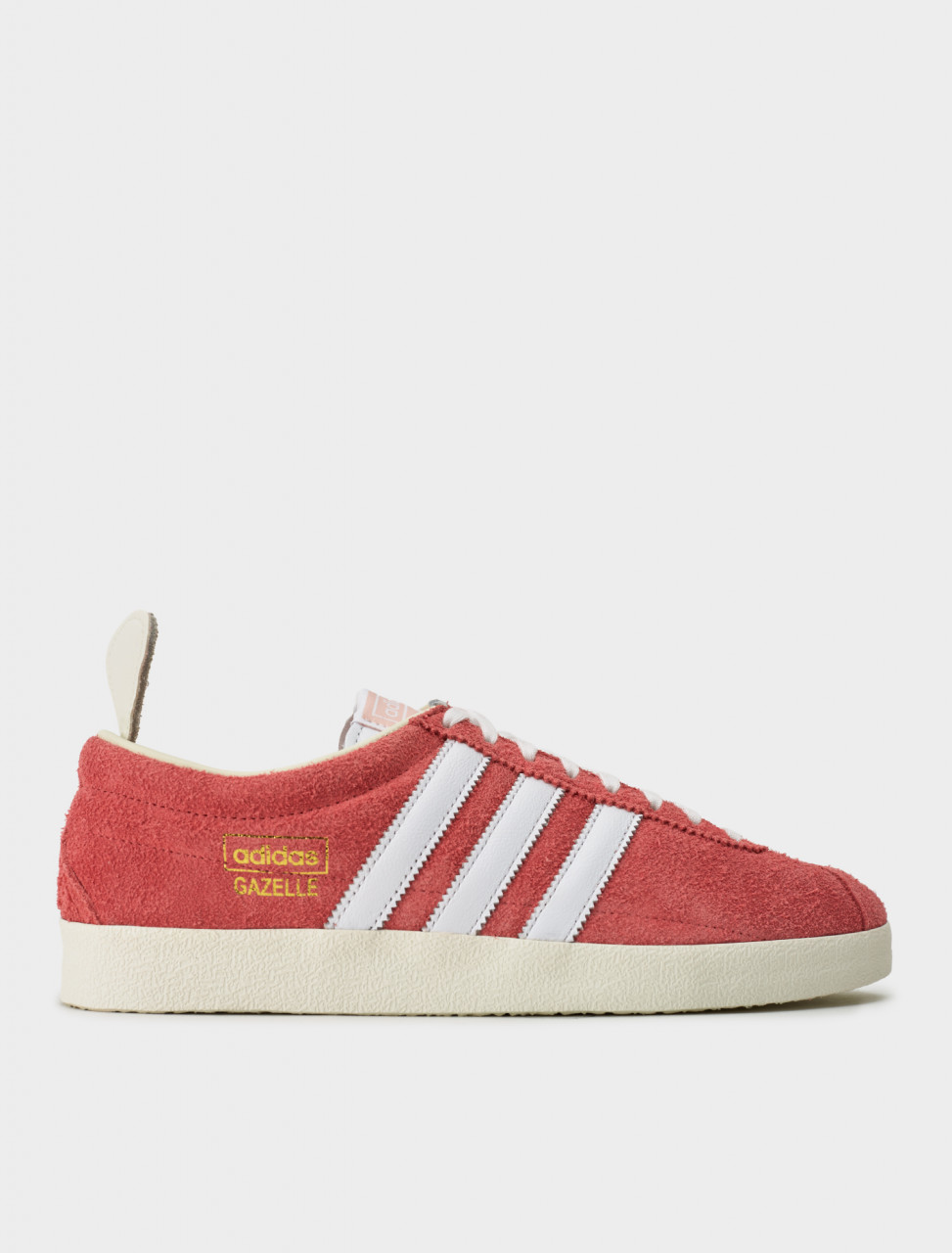 Adidas Gazelle Vintage Sneaker in Real Pink/Footwear White/Off White