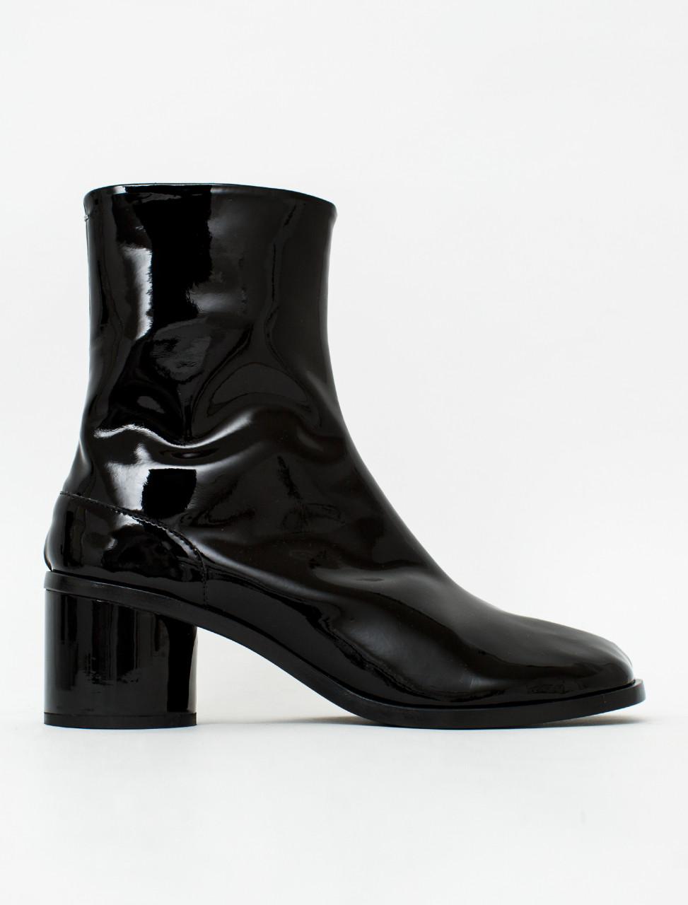 Patent Tabi Boot