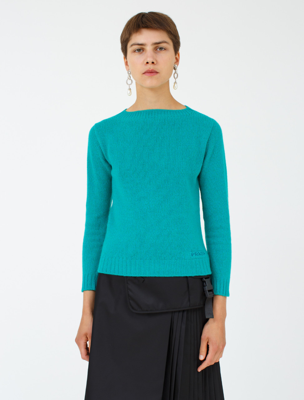 Wool Cashmere Knitted Pullover