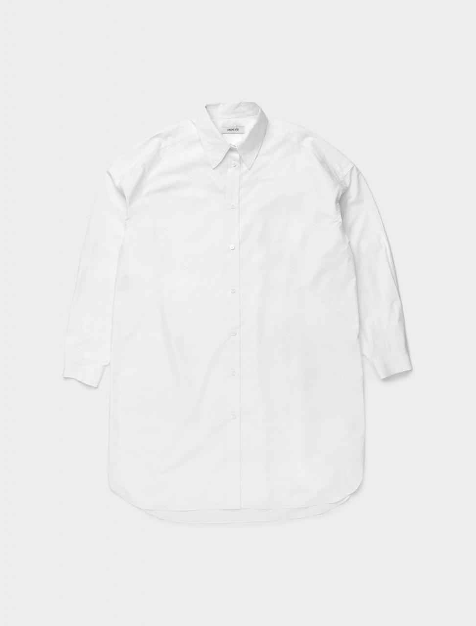 353-AM20FW02DR AMOMENTO BOXY SHIRT DRESS