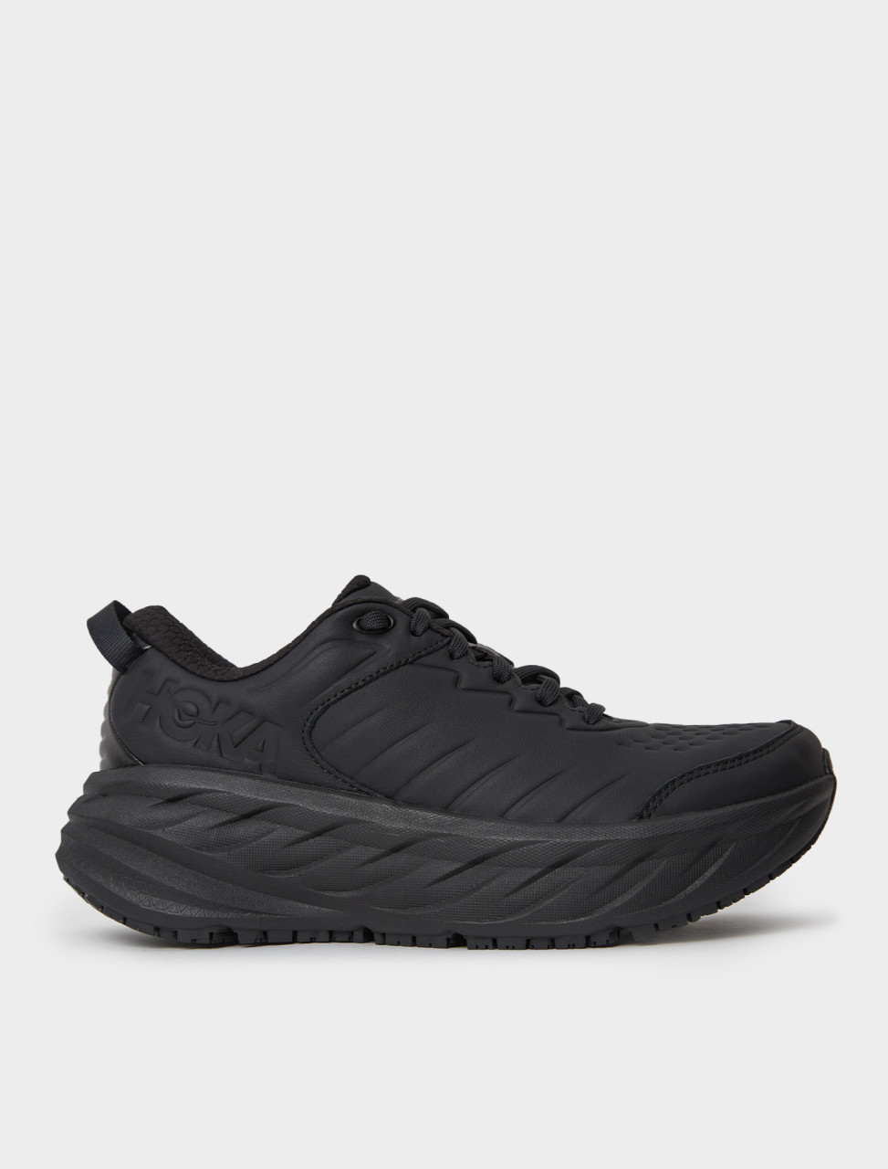 Hoka One One Women's Bondi SR Sneaker in Black