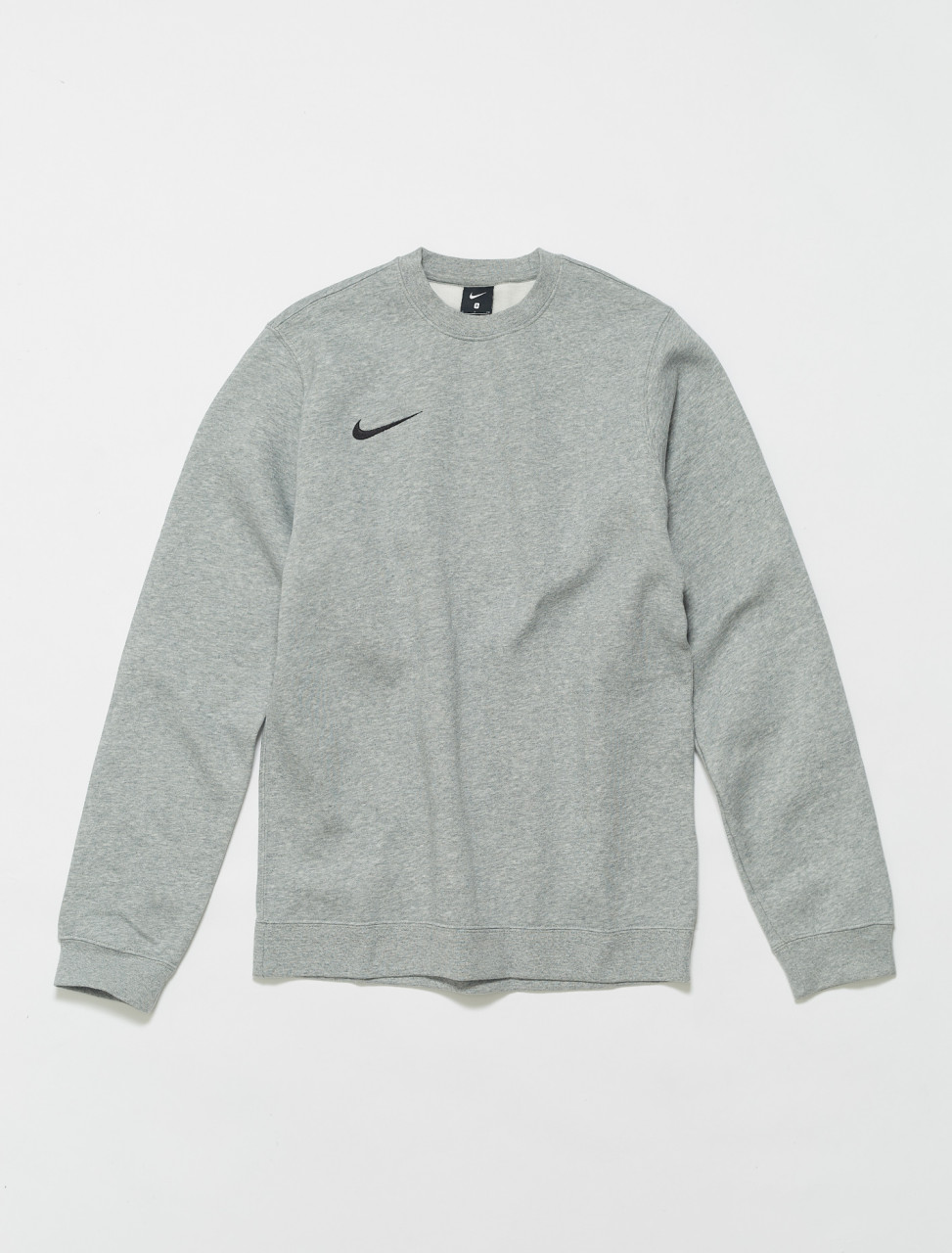149-AJ1466-063 NIKE MENS CREWNECK SWEATSHIRT DARK GREY