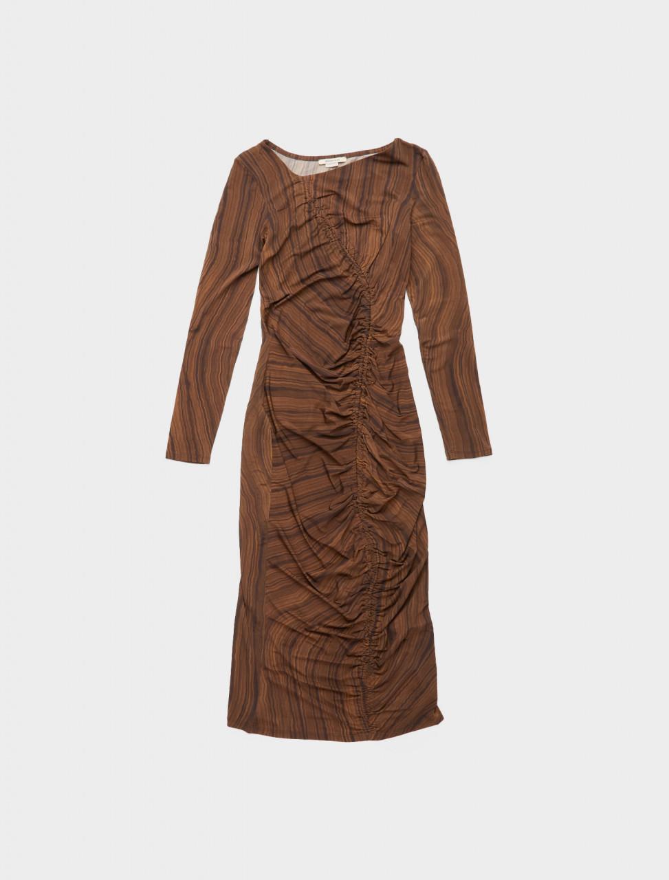 300-PJL031-323 PALOMA WOOL GOBI ZAIDA DRESS