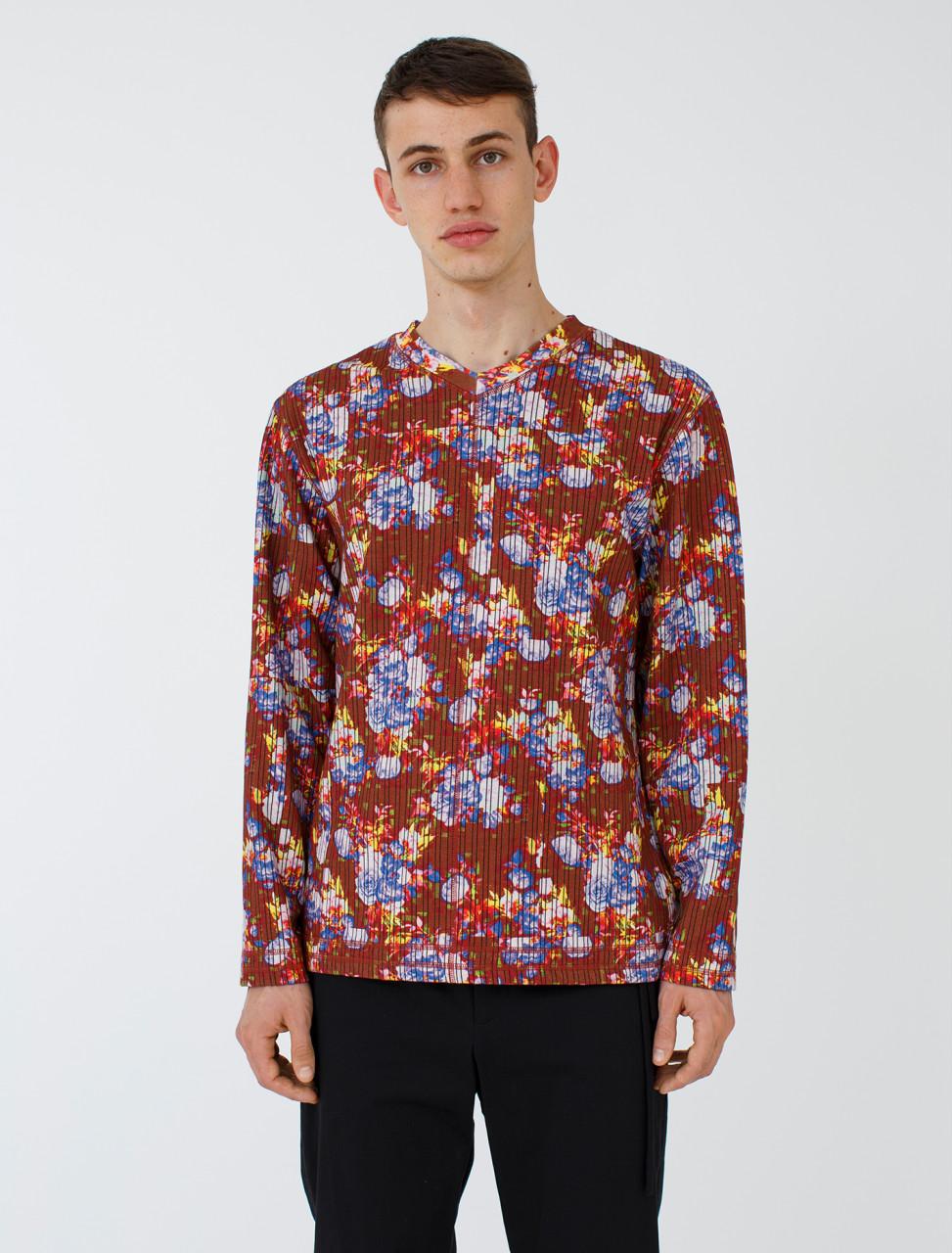 Vibrating Floral Sweatshirt