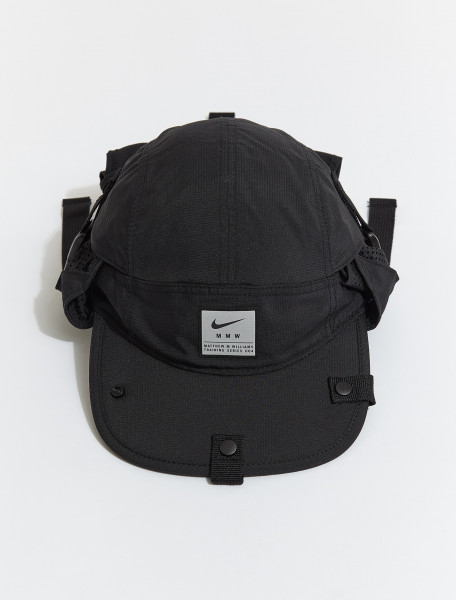 CV8960-010 NIKE X MMW AW84 CAP IN BLACK