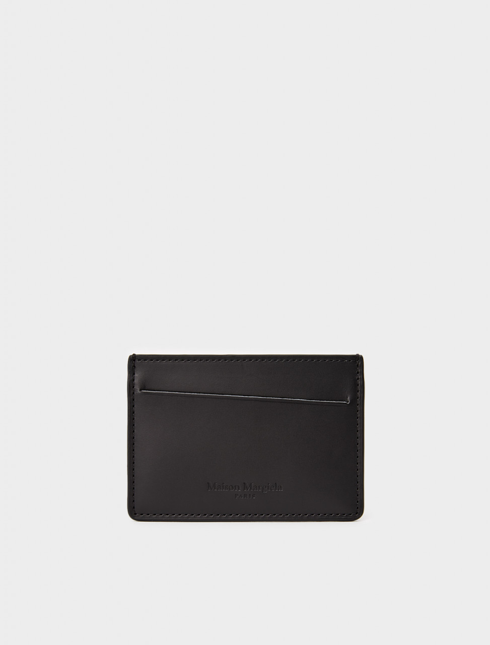 256-S35UI0449-PS935-T8013 MAISON MARGIELA CARD HOLDER WALLET BLACK