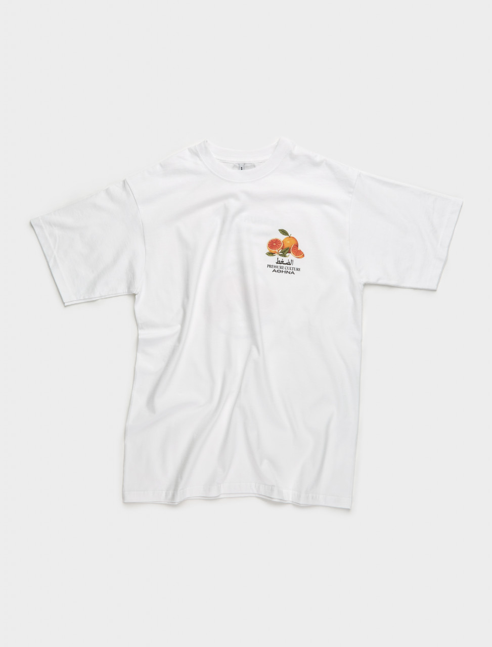 DELTA-WHITE-FRUITS PRESSURE DELTA WHITE FRUITS T SHIRT