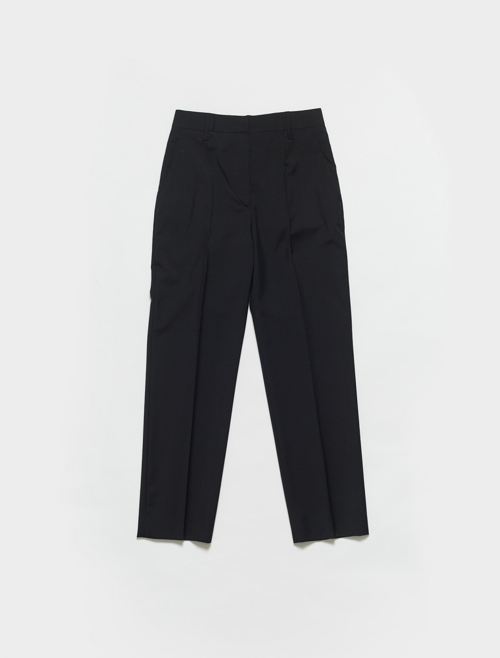 P288D-F0002 PRADA PRINTED TROUSER IN BLACK