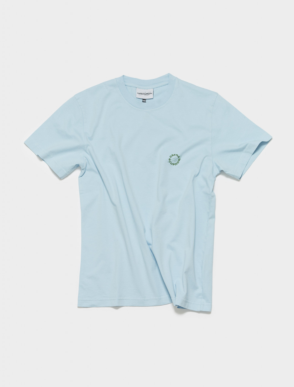 SS21TS06 CARNE BOLLENTE HAVE A FRUIT T SHIRT IN WASHED BLUE