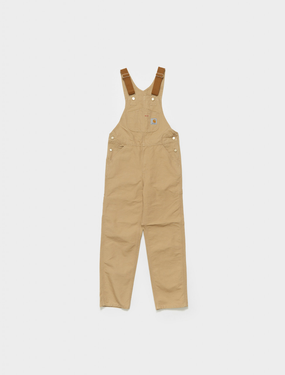 I026462-07E CARHARTT BIB OVERALL IN DUSTY H BROWN