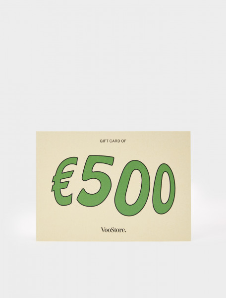 VV500-P VOO STORE GIFT CARD 500