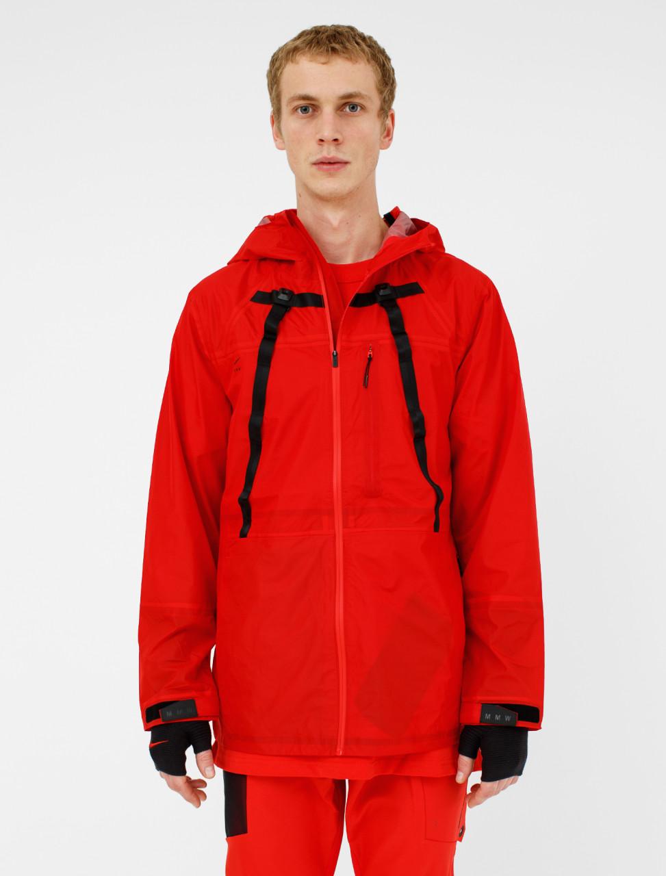x MMW Jacket in University Red
