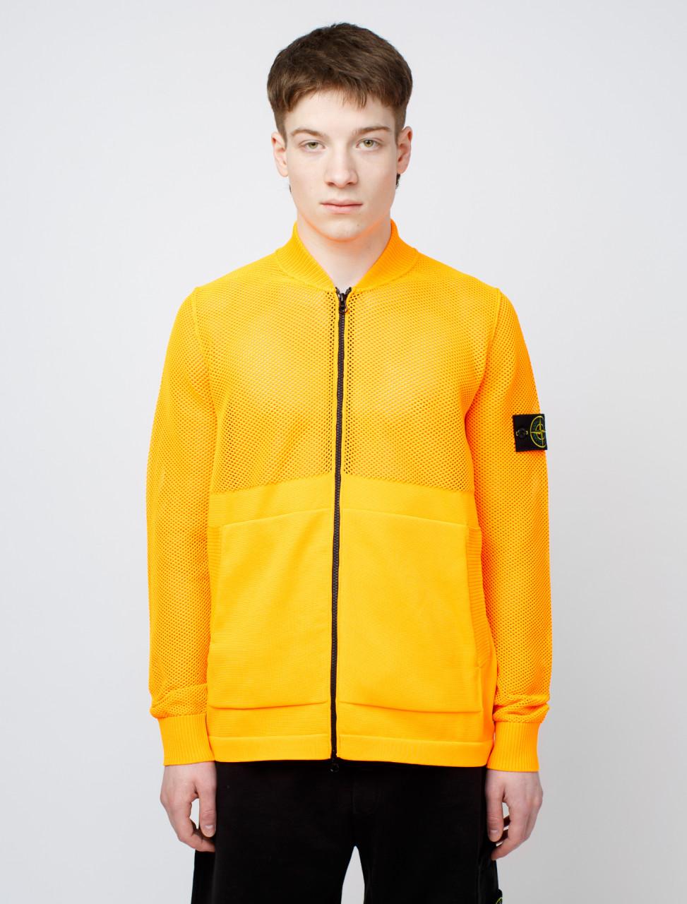 SI Orange Knit Jacket