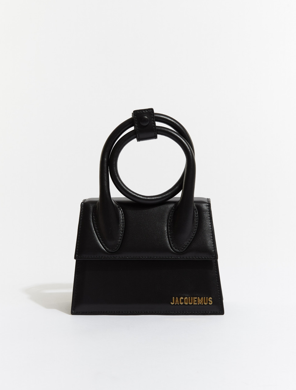 211BA05-211-300990 JACQUEMUS LE CHIQUITO NOEUD IN BLACK