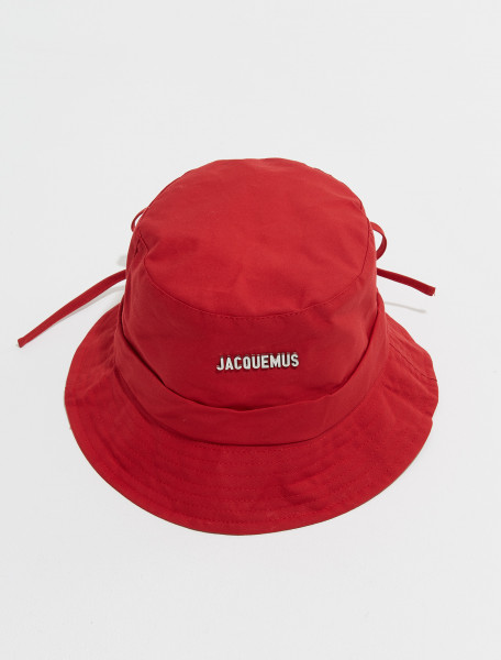 213AC01 213 503490 JACQUEMUS LE BOB GADJO IN RED