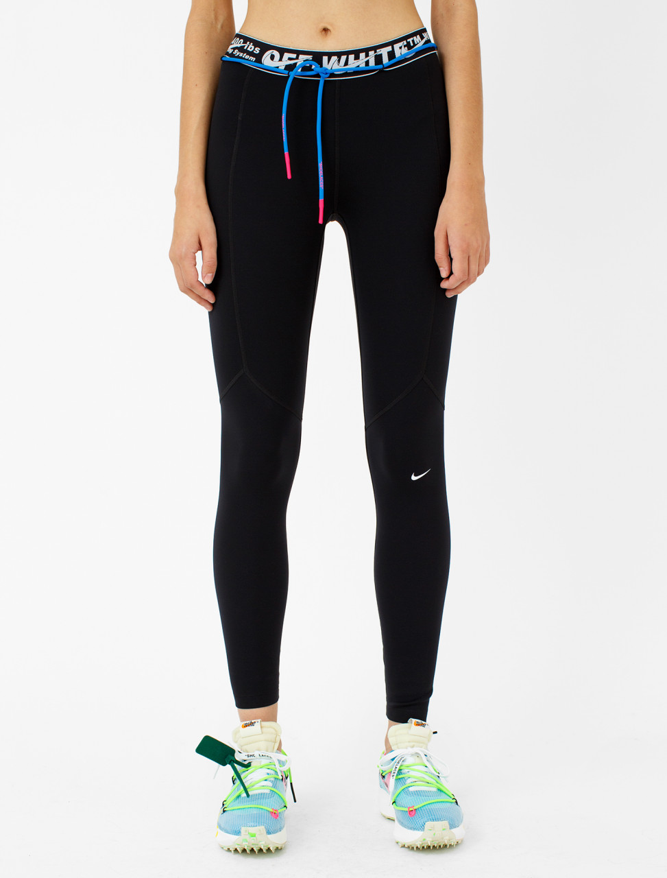x Off-White Utility Running Tights in Black