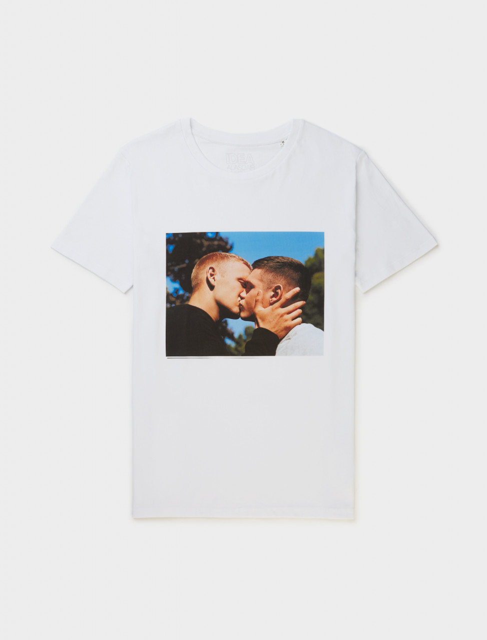 IDEA Books ltd Alasdair McLellan THE KISS Tee Front