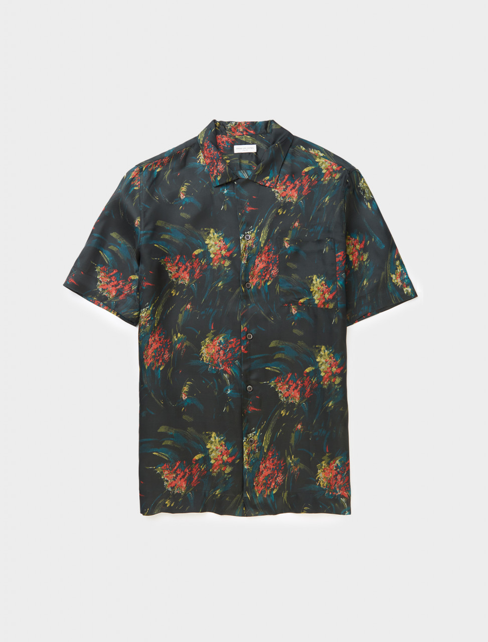 Dries van Noten Carltone Shirt in Black