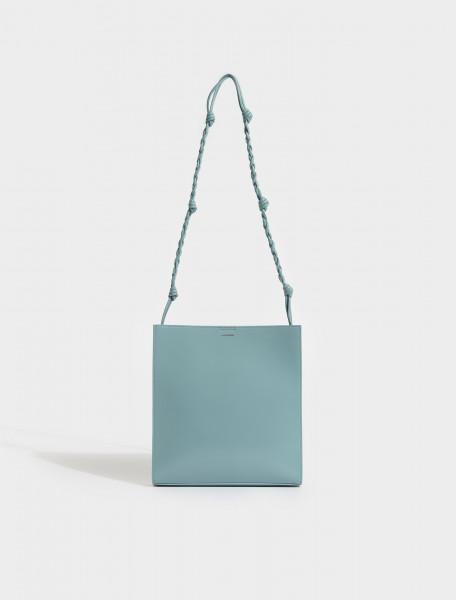 JSWS853172-WSB69159N-421 JIL SANDER TANGLE MEDIUM BAG IN BLUE