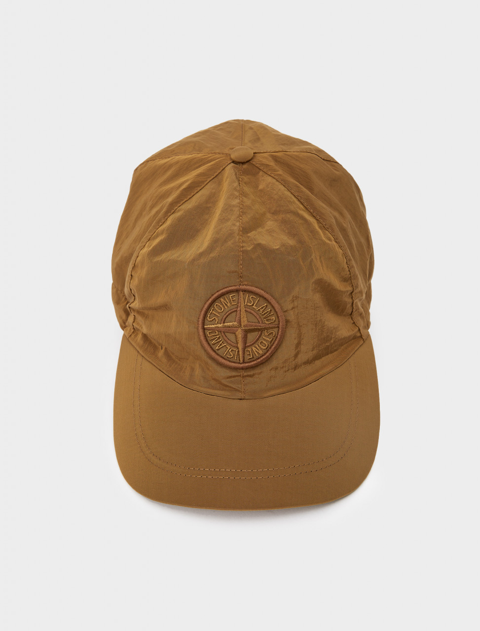 241-MO731599576-V0071 STONE ISLAND HAT BROWN