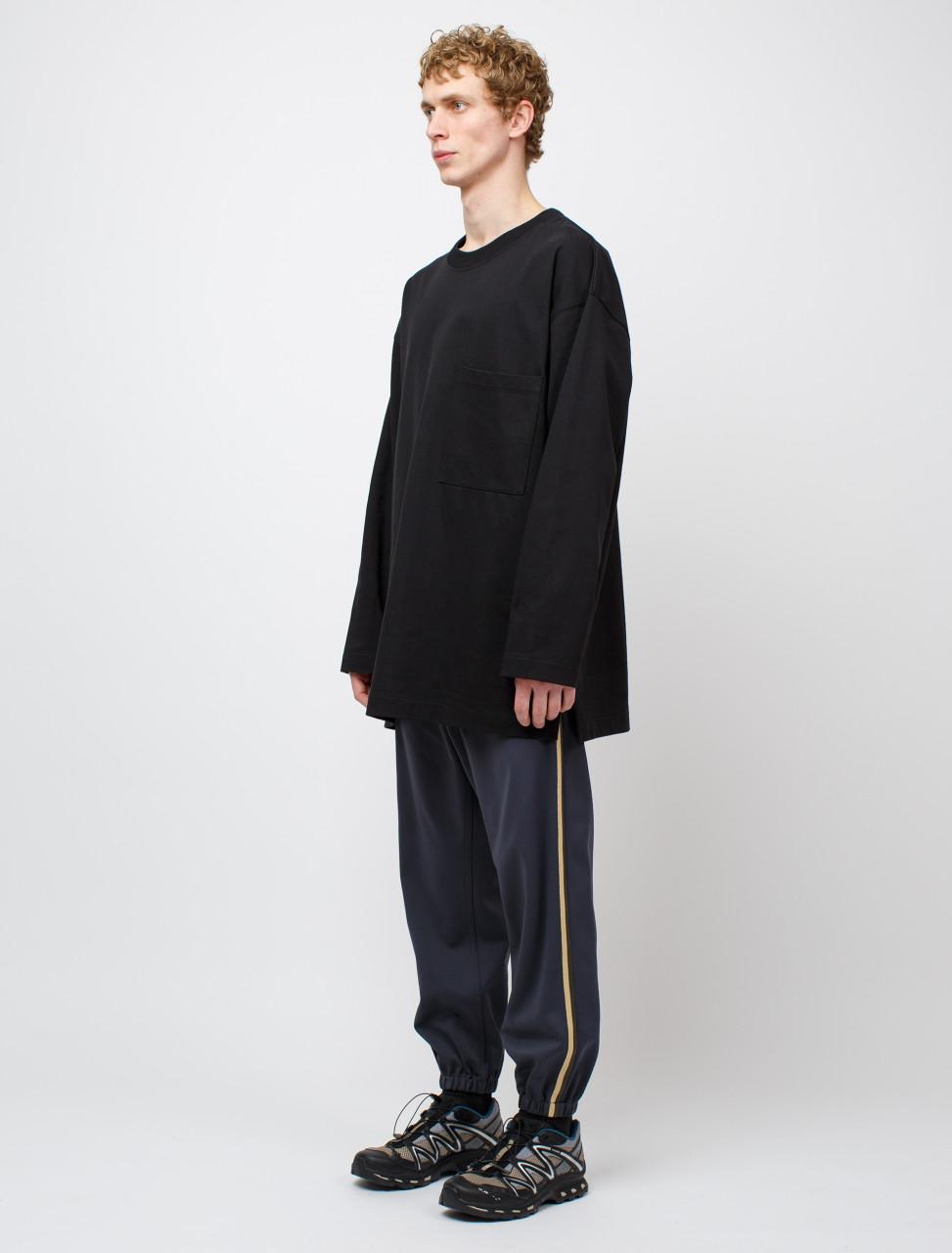 Trousers in Dark Grey