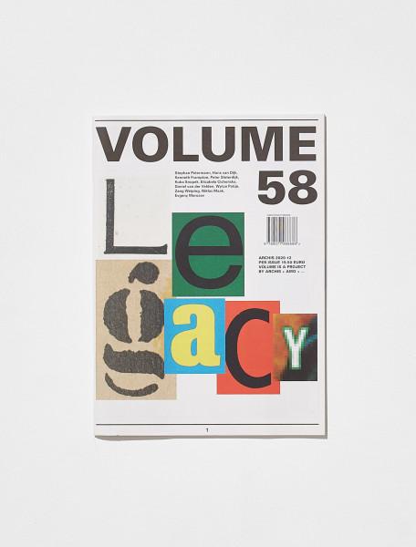 VOLUME 58 LEGACY