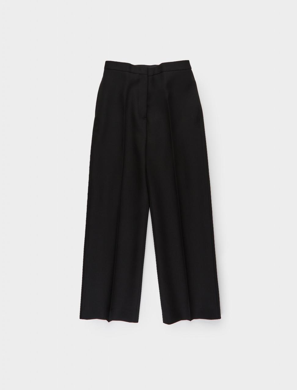 130-JSMR311231-MR251200-001 JIL SANDER Cropped Trouser in Black