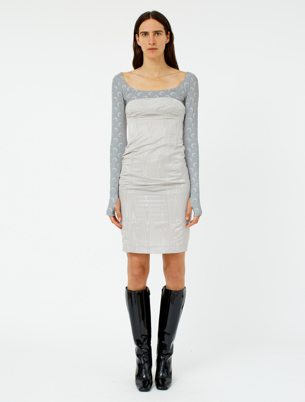 Hybrid Dress with Long Sleeves