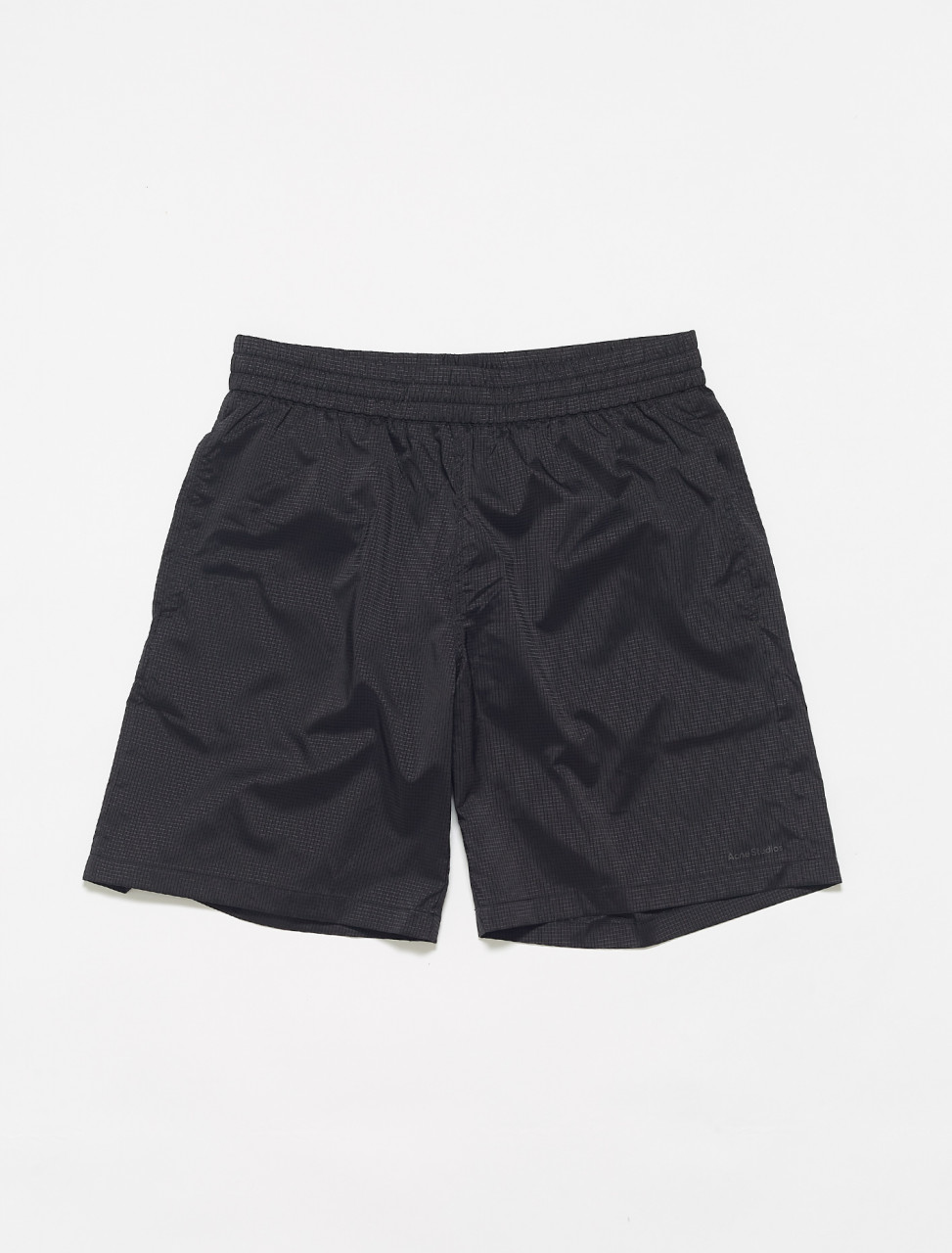 BJ0011-900 ACNE STUDIOS WOUNDA SWIMSHORTS IN BLACK