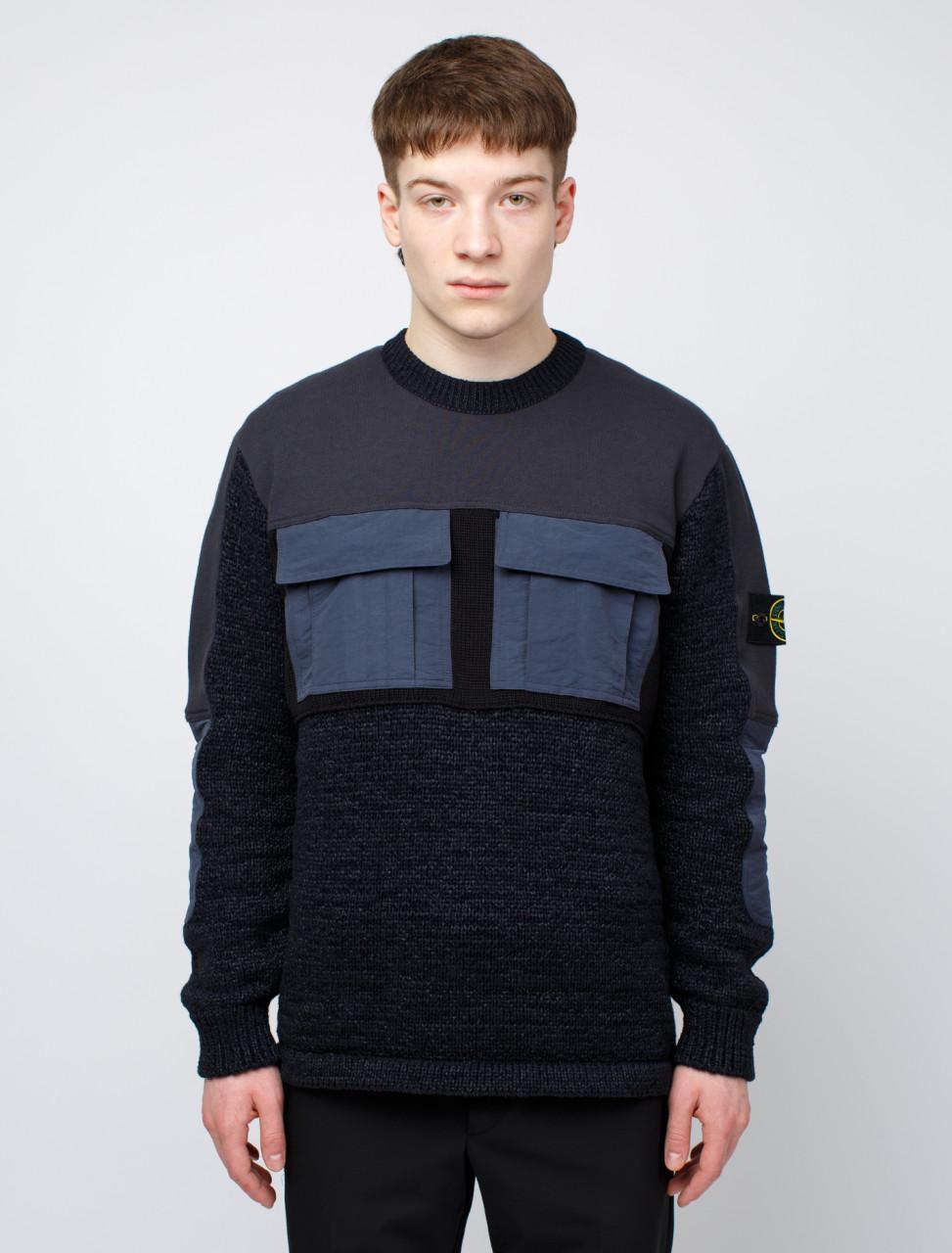SI Front Pocket Knit Sweatshirt