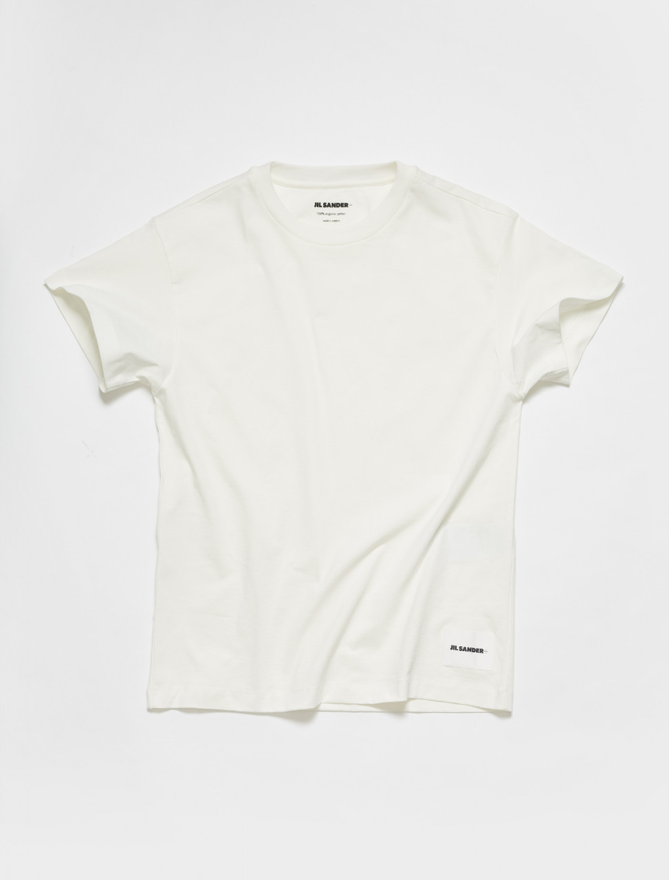 JPUS706530-MS248808-100 JIL SANDER T SHIRT 3 PACK IN WHITE