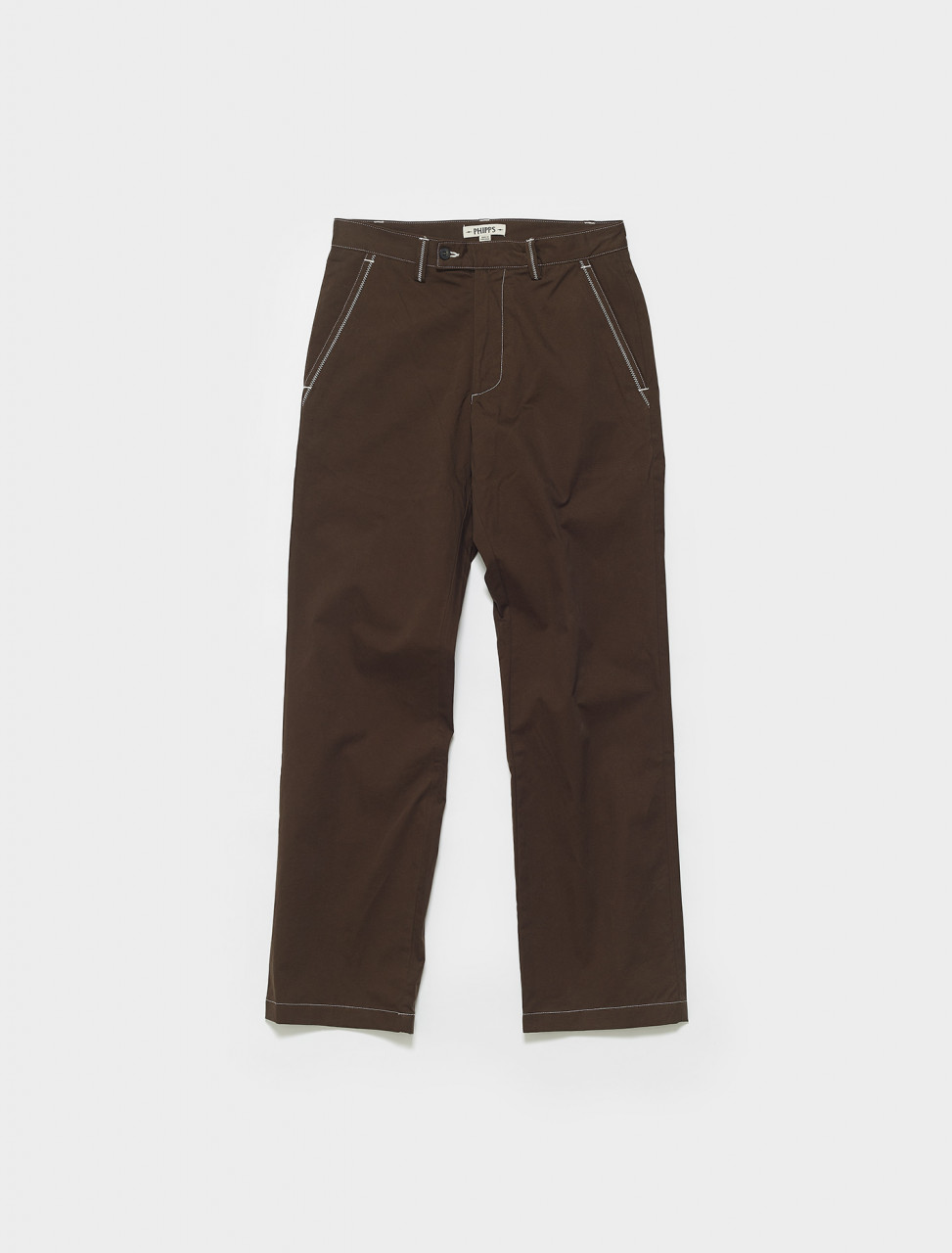 PHSS21-P22-C003 PHIPPS DAD TROUSERS BLACK BEAR