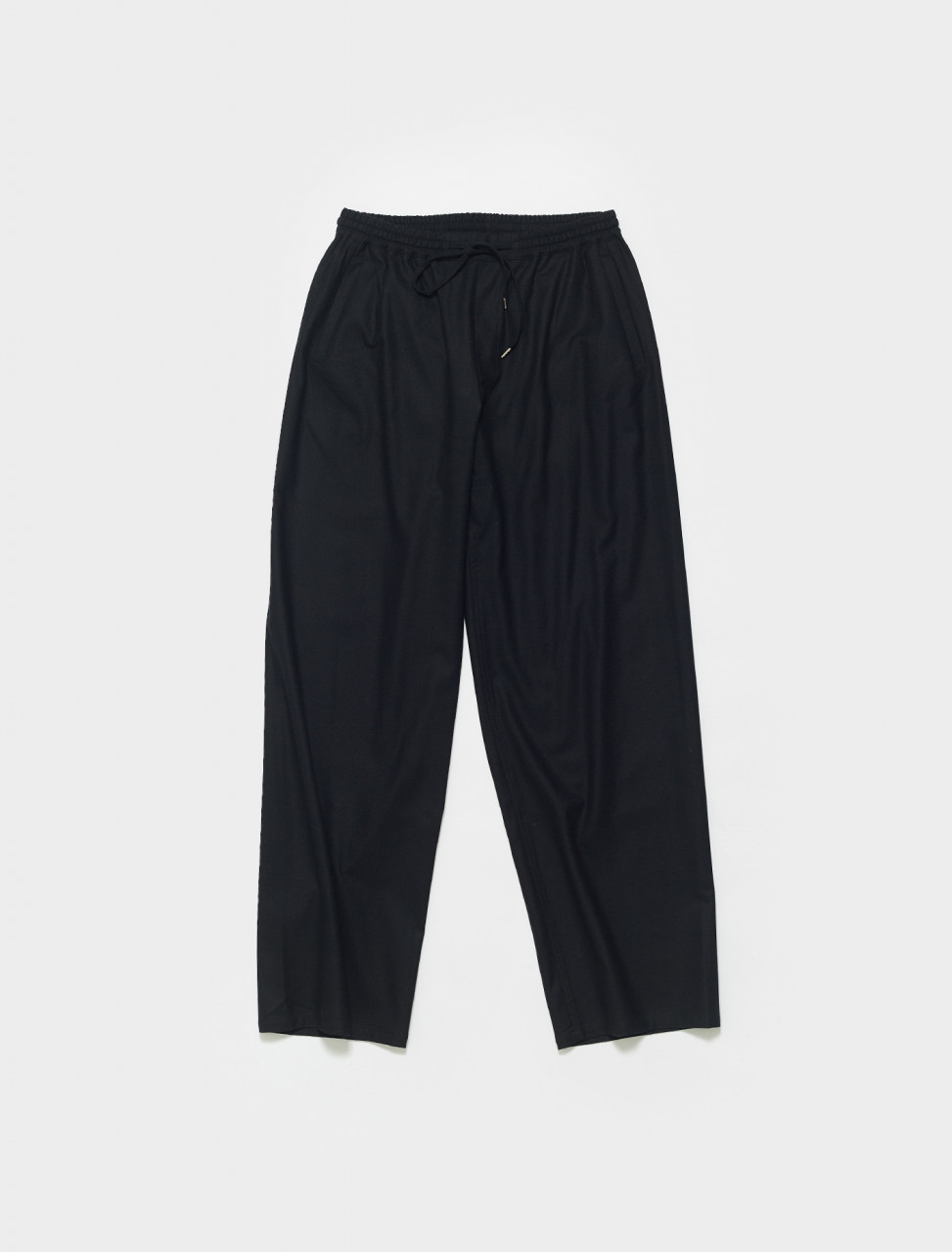 106-20301 A KIND OF GUISE SAMURAI TROUSER IN BLACK FLANNEL